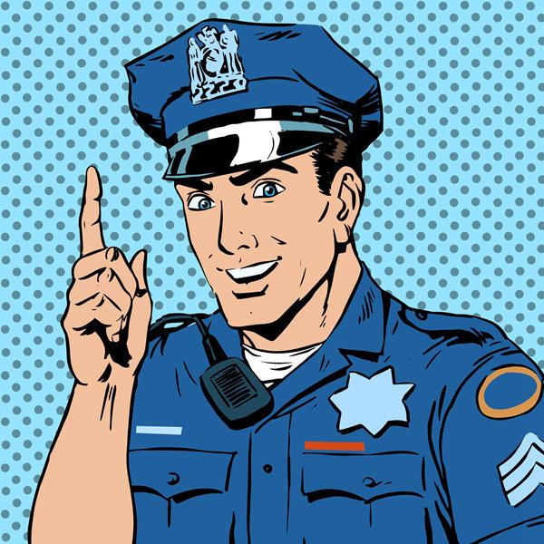 卡通警察 - 详情页面